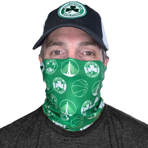 Boston Basketball - Neck Gaiter