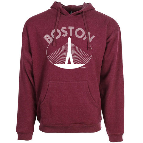 Boston Zakim - Heather Burgundy - Sweatshirt