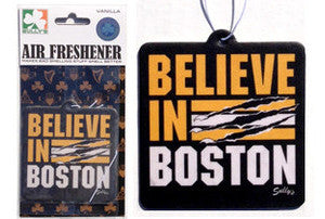 Believe in Boston - Bear Tear Air Freshener