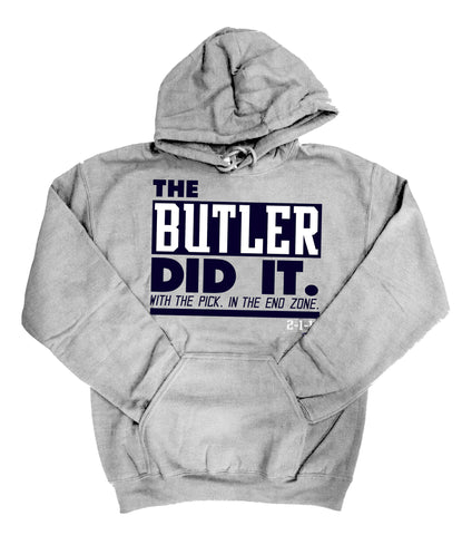 The Butler Did It - Grey Sweatshirt