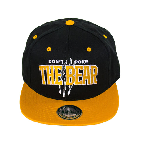 Don't Poke The Bear Snapback Hat