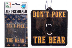 Don't Poke the Bear Air Freshener