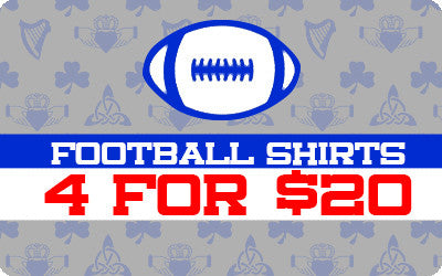 4 For $20 Football Shirts