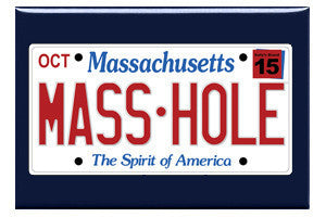 Masshole License Plate Magnet
