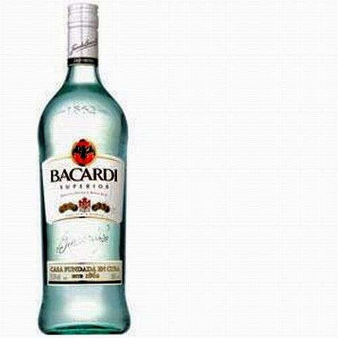 Bacardi Light Rum 750ML