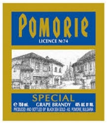 Pomorie Special Grape Brandy 750ml