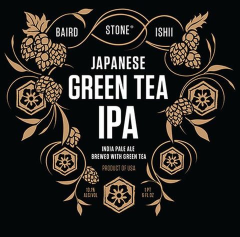 STONE GREEN TEA IPA