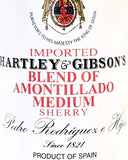 Hartley & Gibson Amontillado Sherry
