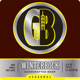 GORDON BIERSCH WINTER BOCK CASE