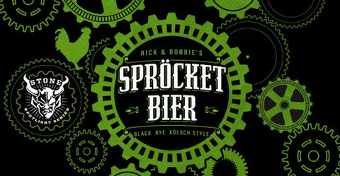 STONE SPROCKET BIER 22OZ