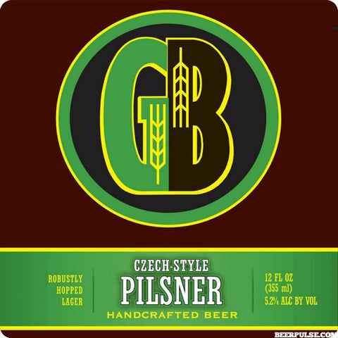 GORDON BIERSCH PILSNER CASE