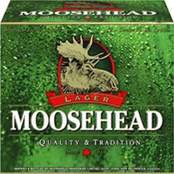 MOOSEHEAD BEER CASE