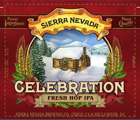 SIERRA NEVADA CELEBERATION FRESH HOP IPA CASE