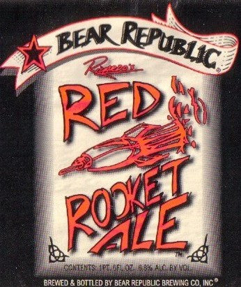 BEAR REPUBLIC RED ROCKET ALE CASE