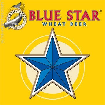 North Coast Blue Star Wheat Keg 5GAL