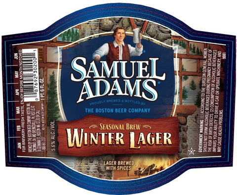 SAMUEL ADAM WINTER LAGER CASE