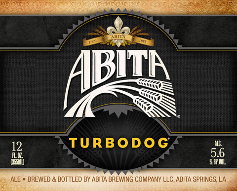 Abita Turbo Dog Keg 15GAL