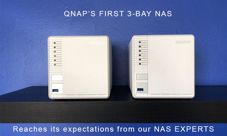 QNAP's new TS-328 3-bay captures the SMB 10GbE Market
