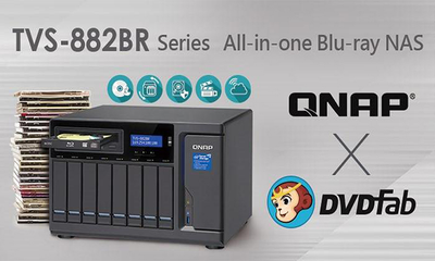 QNAP Extends TVS Features with All-in-one Blu-Ray NAS