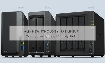 Quick look at the all-new revolutionary Synology NAS lineup