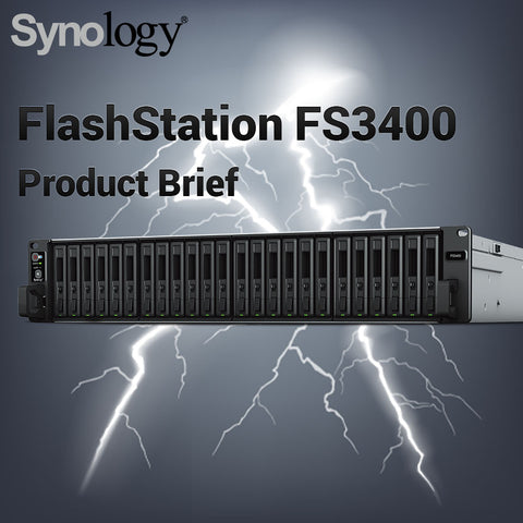 Synology FlashStation FS3400 Product Brief