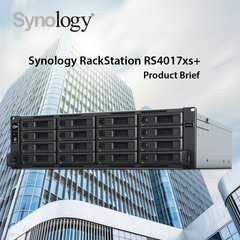 Synology RS4017xs+ Product Brief