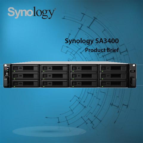 Synology SA3400 Product Brief