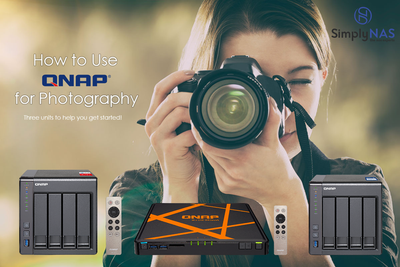 How to use a QNAP for photography