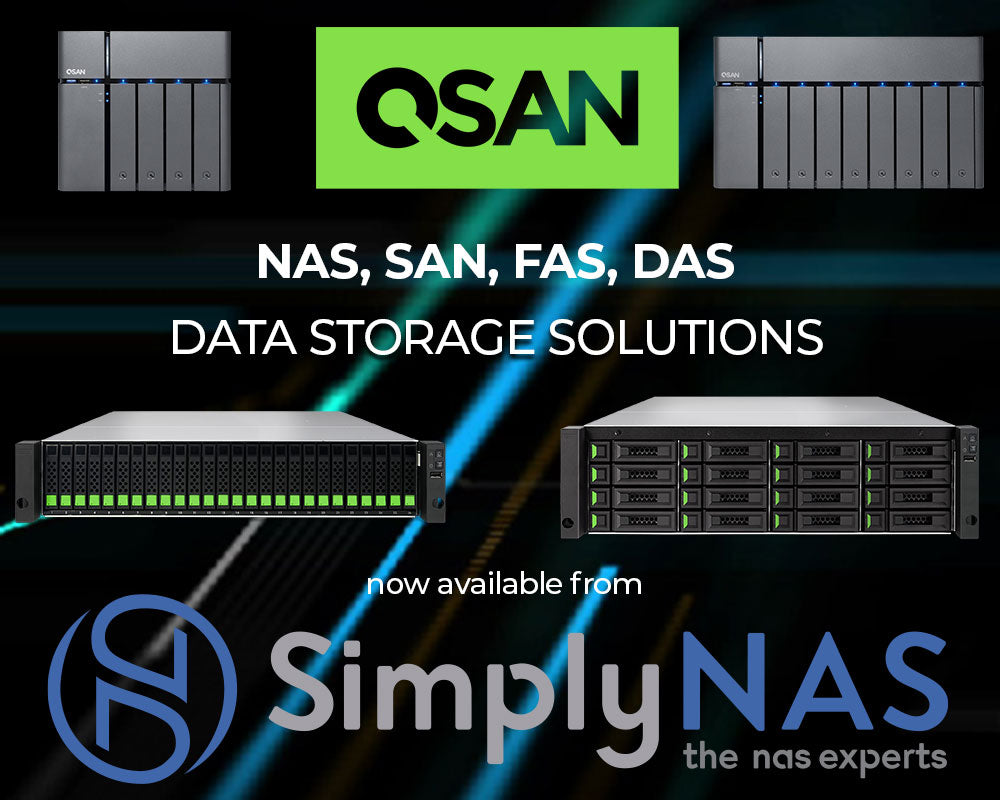 QSAN Announces Partnership with SimplyNAS