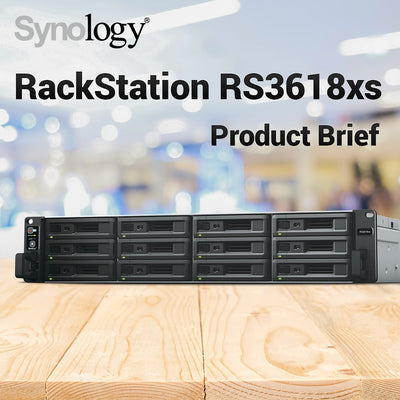 Synology RackStation RS3618XS Product Brief