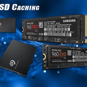 Using M.2 SSD as Caching and SSD's as a Solution for Driving Performance and Increase in Productivity