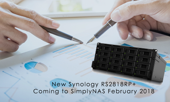 Synology Unveils RackStation RS2818RP+, Backed By New Replacement Service for North America