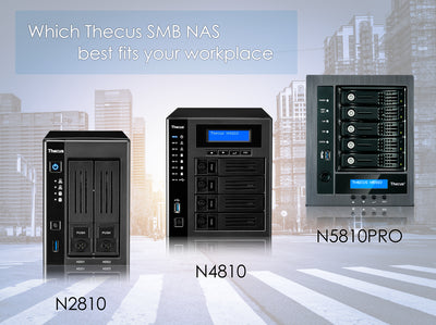 Which Thecus NAS for Small Business: N2810, N4810, N5810
