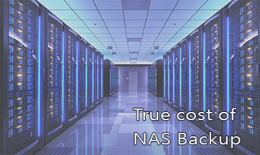 What is the true cost of NAS backup?