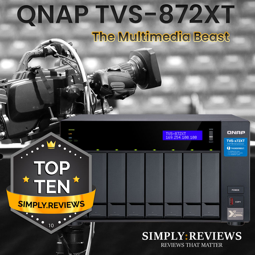 QNAP TVS-872XT Product Review