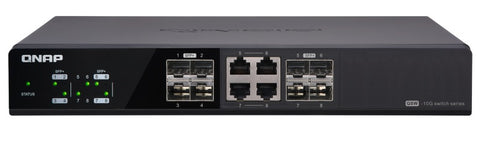QNAP QSW-804-4C – 8-port 10GbE Switch
