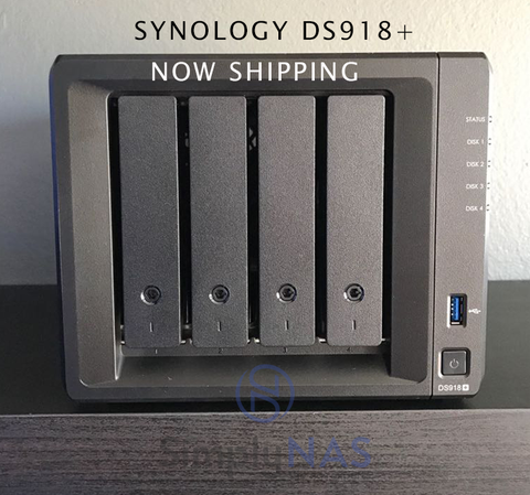 Synology DS918+ Available at SimplyNAS