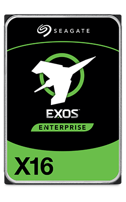 Seagate Exos Enterprise hard drives
