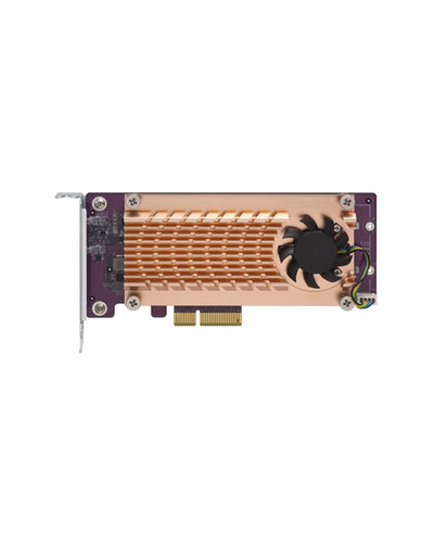 QNAP QM2-2P-244A Dual M.2 22110/2280 PCIe SSD expansion card, {$sku}, Peripheral - Expansion Cards