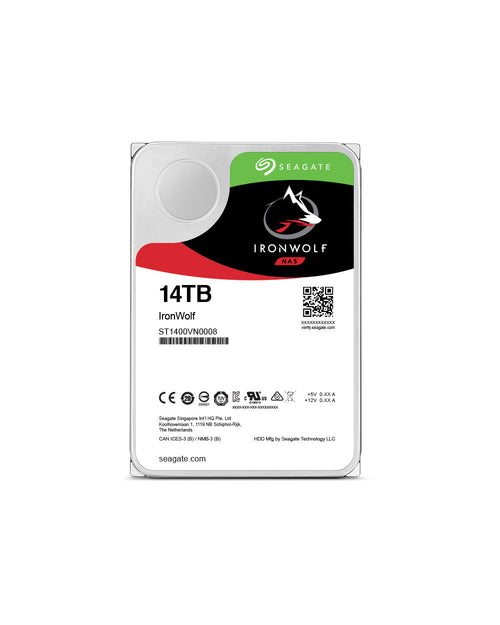 14TB - Seagate IRONWOLF NAS HDD, ST14000VN0008, {$sku}, ST14000VN0008