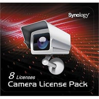 Synology CLP8 Camera License Pack - 1 code to connect up to 8 IP cameras, {$sku}, License