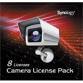 Synology CLP8 Camera License Pack - 1 code to connect up to 8 IP cameras, {$sku}, SYN-CLP8
