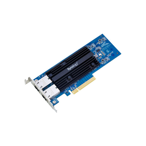 Synology E10G18-T2 Dual Port 10Gb/s PCIe Expansion Card, {$sku}, Peripheral - LAN