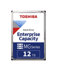 12TB - Toshiba SATA 512e 3.5Inch 7200RPM Enterprise HDD - MG07ACA12TE