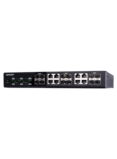 QNAP QSW-1208-8C – 12-port 10GbE Switch