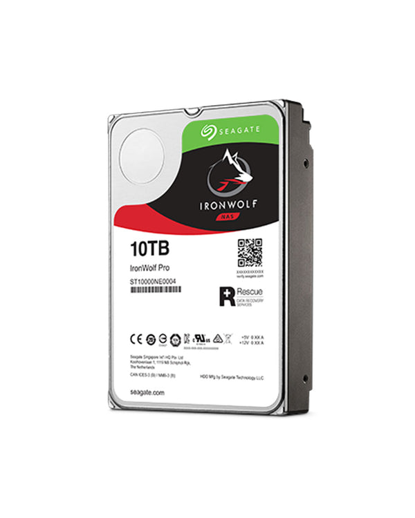 10TB - Seagate Enterprise IRONWOLF PRO SATA ST10000NE0004