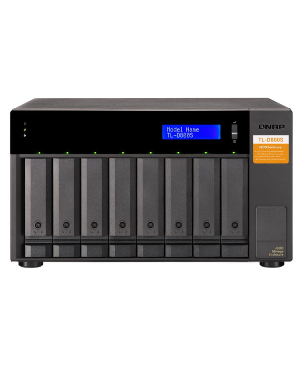 QNAP TL-D800S-US 8-Bay Desktop SATA JBOD Expansion Unit