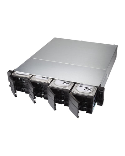 QNAP FlashNAS Solid State 1283XU-RP 46TB integrated with high performance SSD's All Flash ready to use