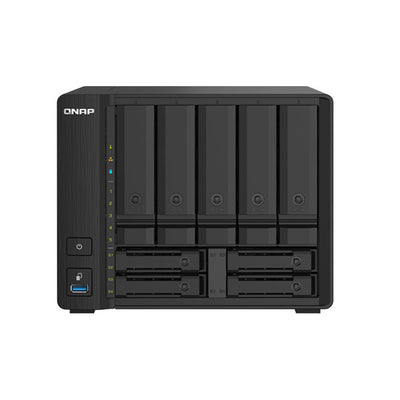 QNAP TS-932PX 16TB integrated with 2 x 8TB Seagate IronWolf NAS
