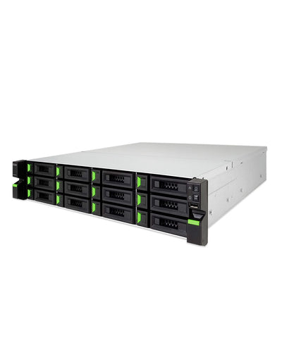 QSAN XCubeNAS XN8012RE 60TB (6 x 10TB) 12 Bay NAS integrated with Seagate Exos